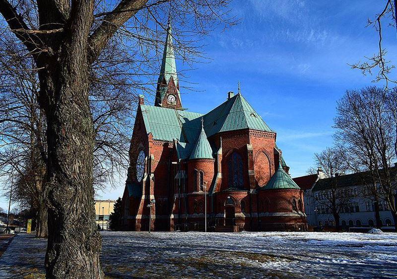 Красивые города Финляндии: Котка