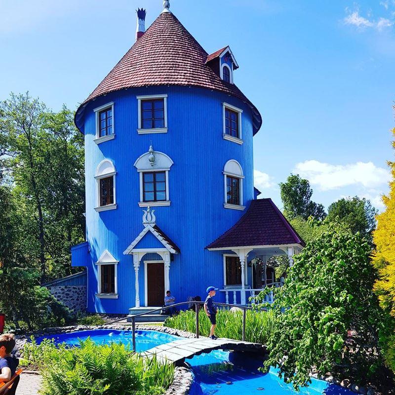 Красивые города Финляндии: Наантали
