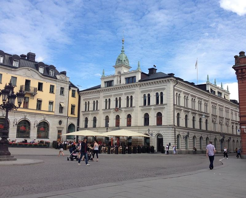 Красивые города Швеции: Уппсала