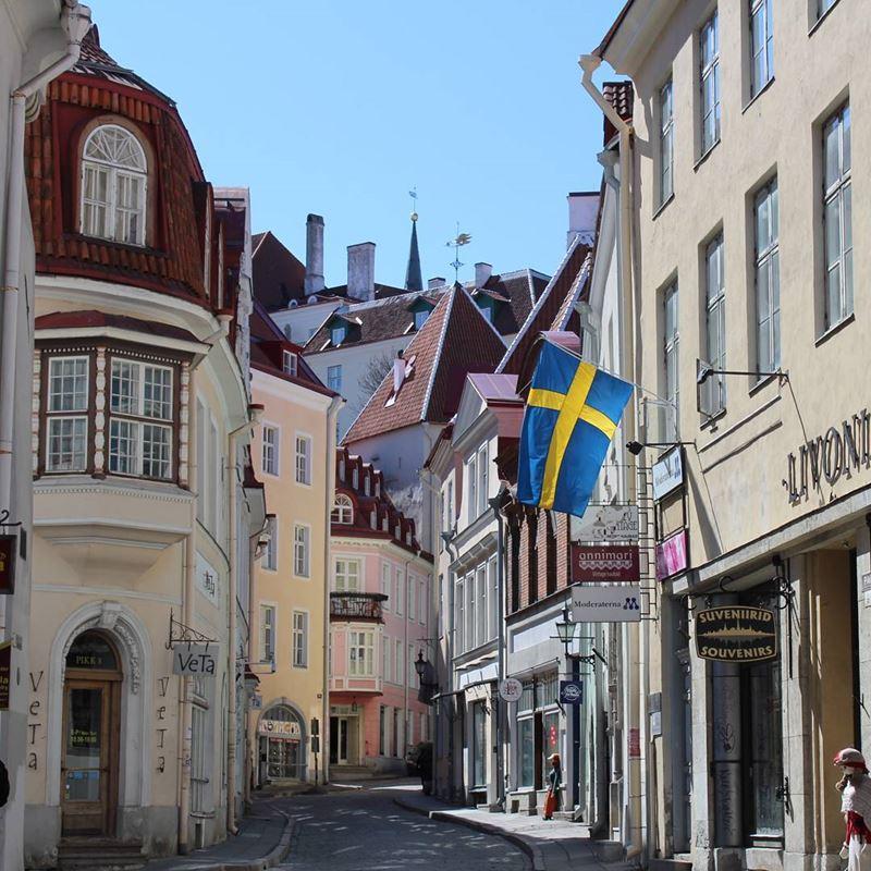 Красивые города Эстонии: Таллин