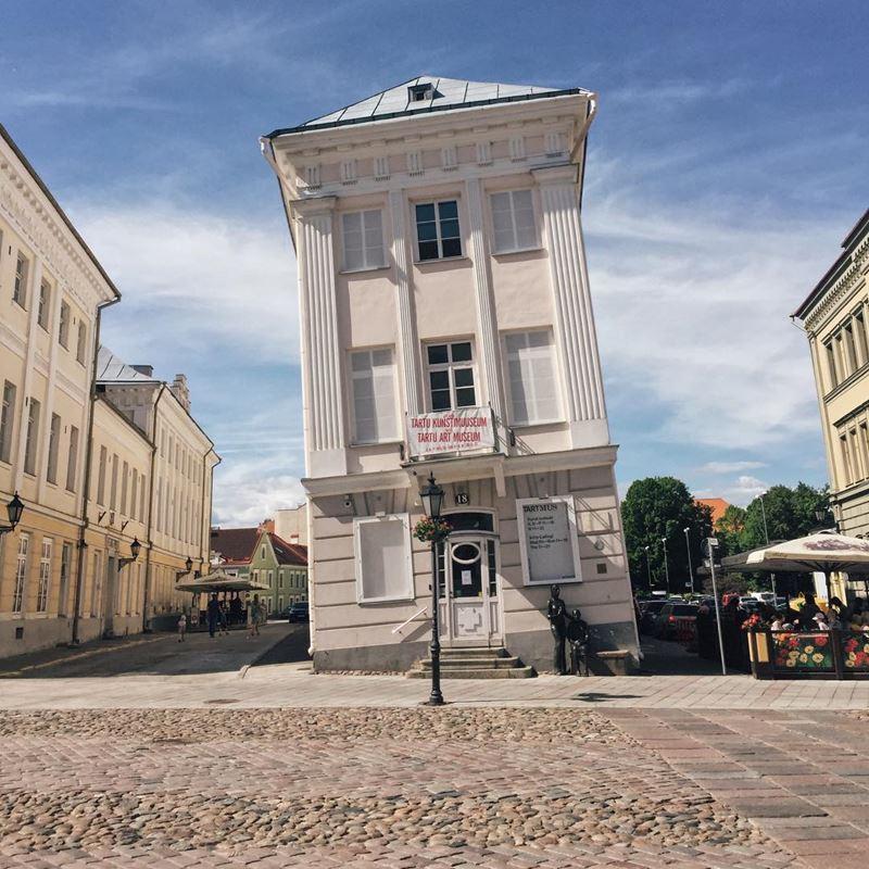 Красивые города Эстонии: Тарту