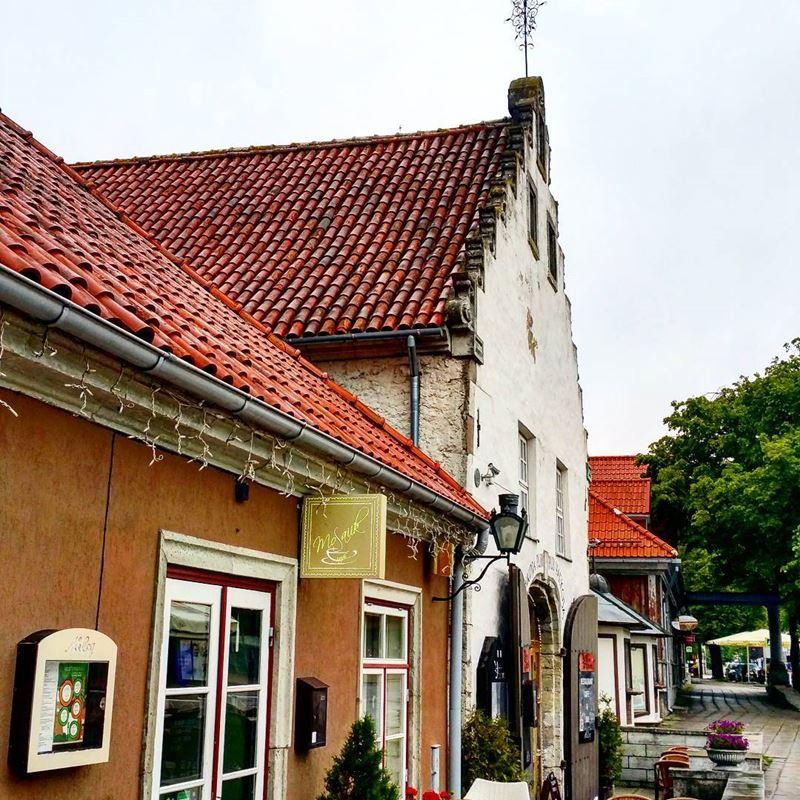 Красивые города Эстонии: Куреcсааре
