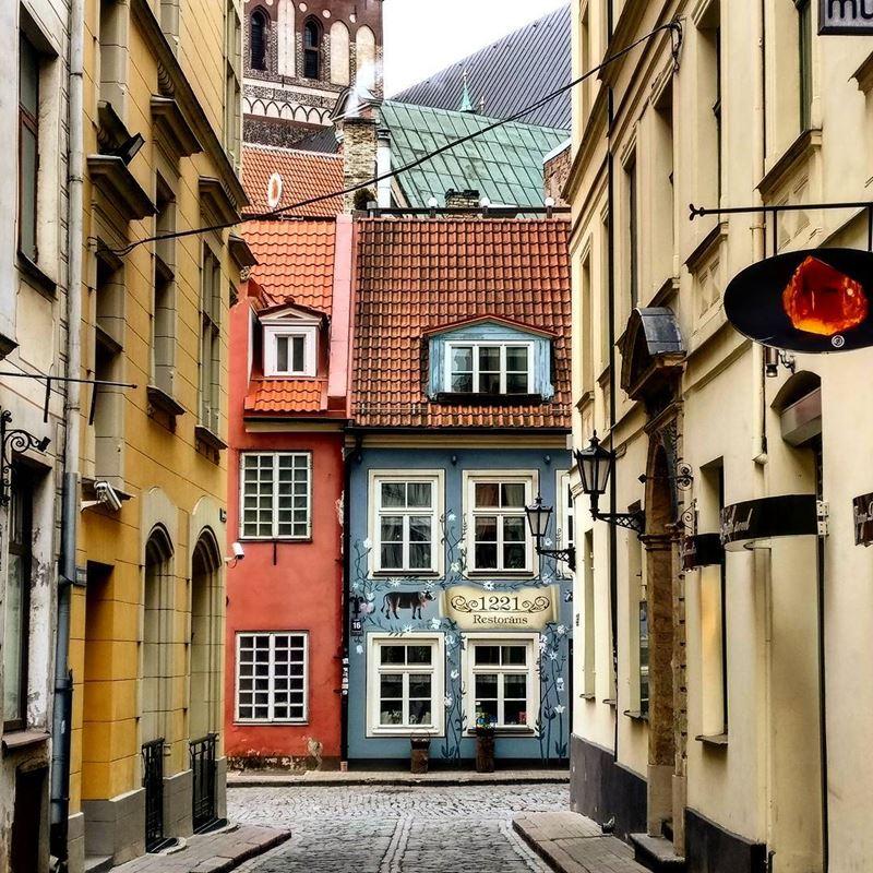 Красивые города Латвии: Рига