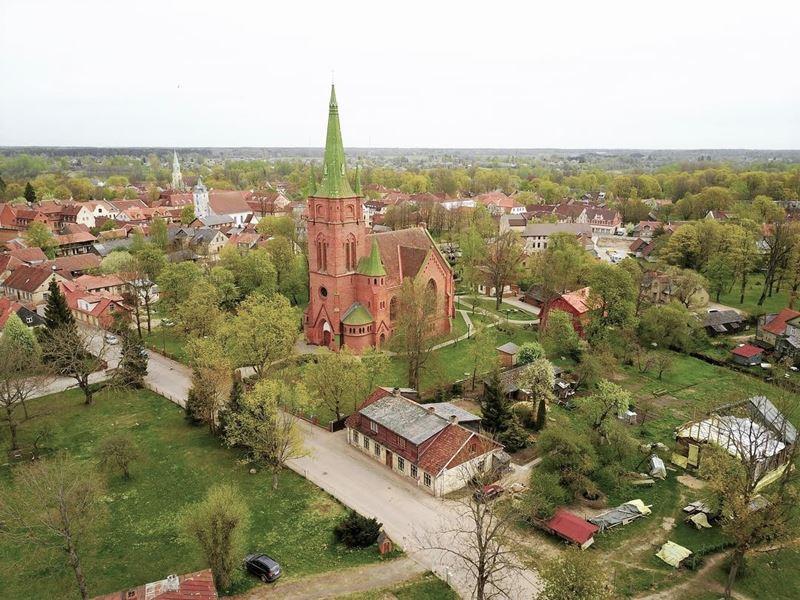 Красивые города Латвии: Кулдига