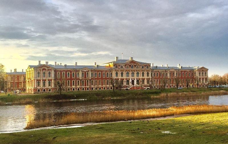 Красивые города Латвии: Елгава