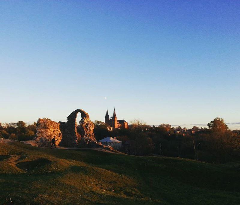 Красивые города Латвии: Резекне