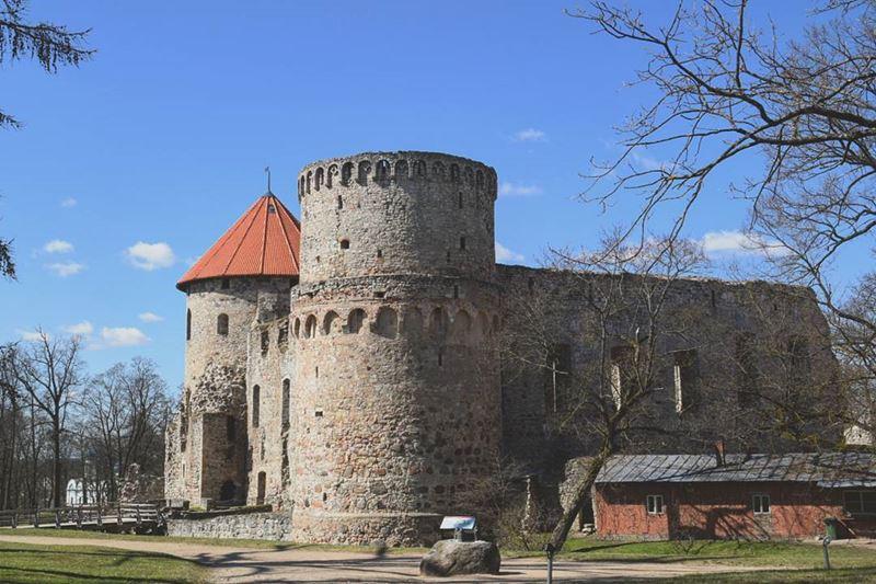 Красивые города Латвии: Цесис