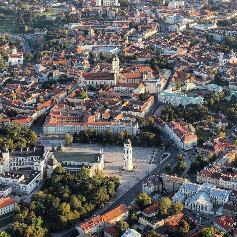 Красивые города Литвы: Вильнюс
