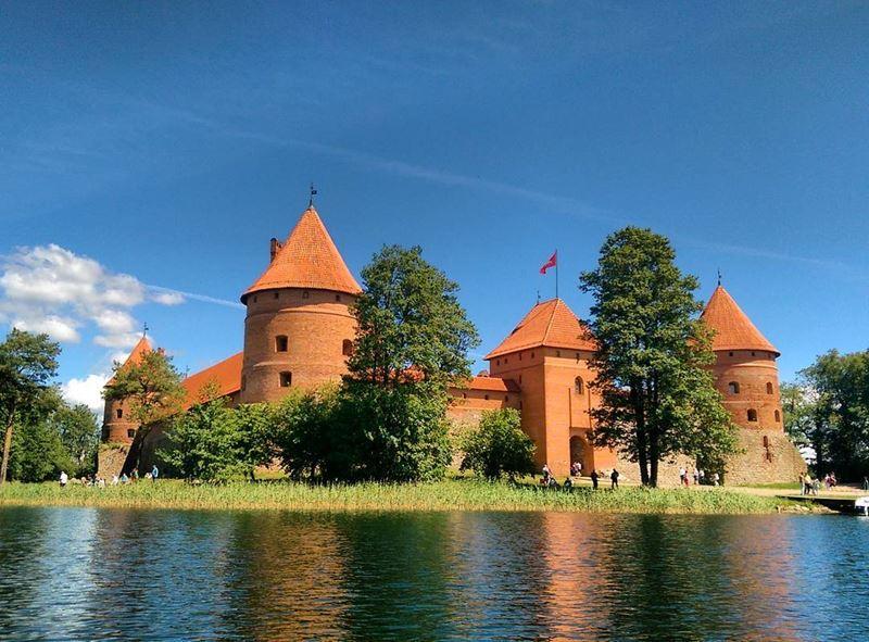 Красивые города Литвы: Тракай