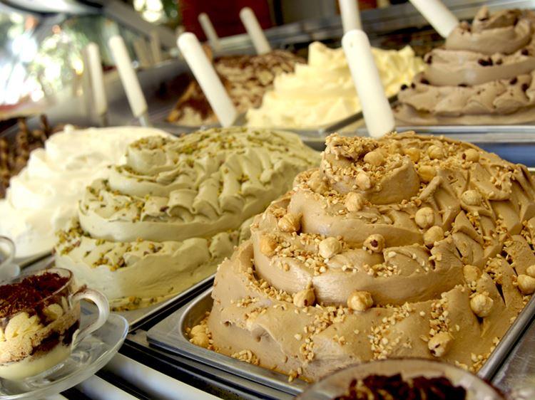 Классический итальянские десерты: Джелато