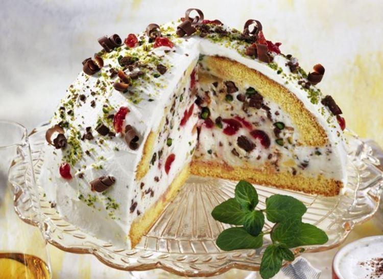 Классический итальянские десерты: Сицилийская кассата