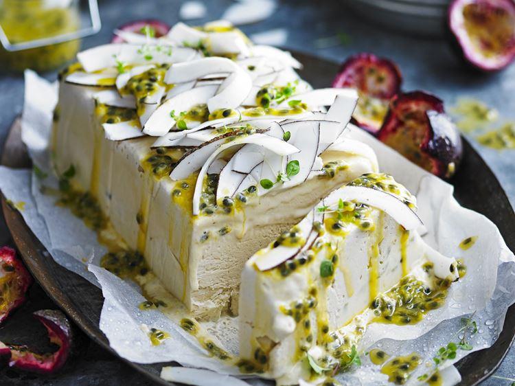 Классический итальянские десерты: семифреддо