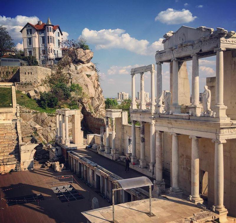 Красивые города Болгарии: Пловдив
