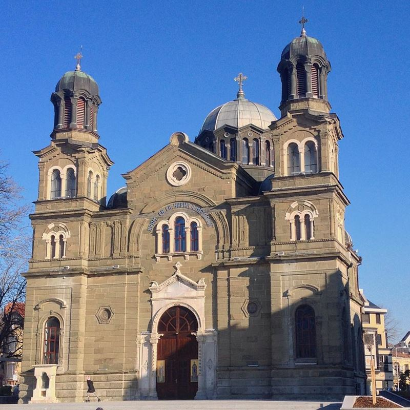Красивые города Болгарии: Бургас