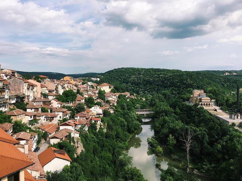 Красивые города Болгарии: Велико-Тырново