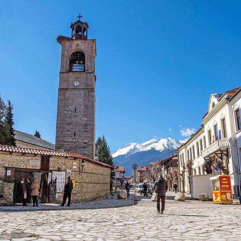 Красивые города Болгарии: Банско