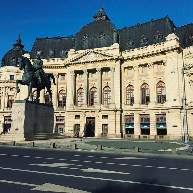 Красивые города Румынии: Бухарест