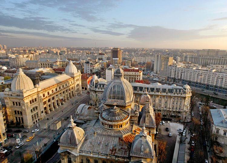 Бухарест - столица Румынии