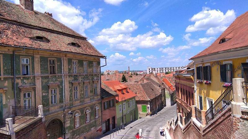 Красивые города Румынии: Сибиу