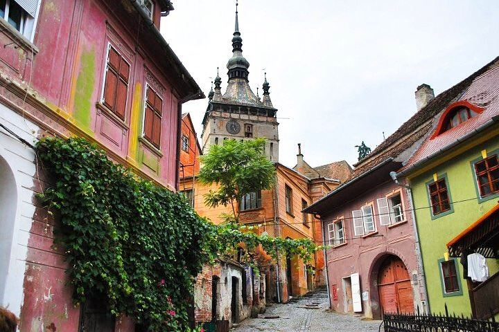 Красивые города Румынии: Сигишоара