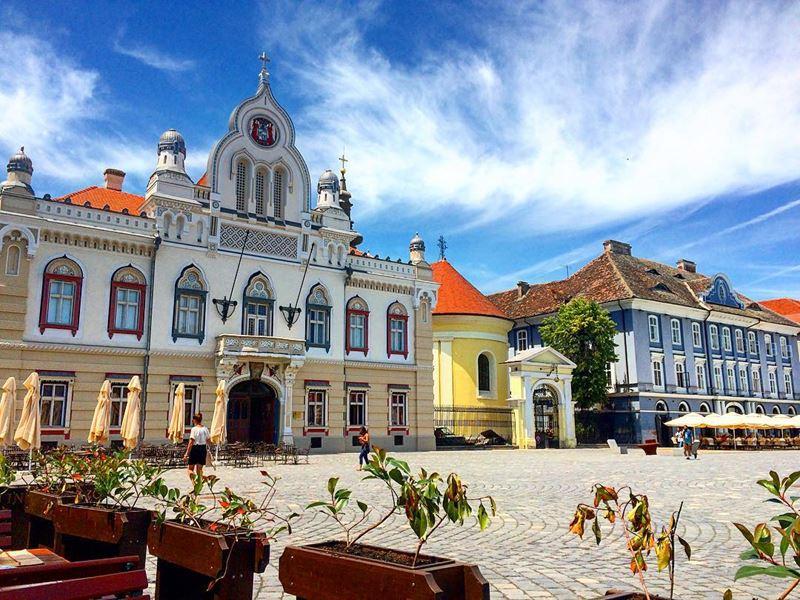 Красивые города Румынии: Тимишоара