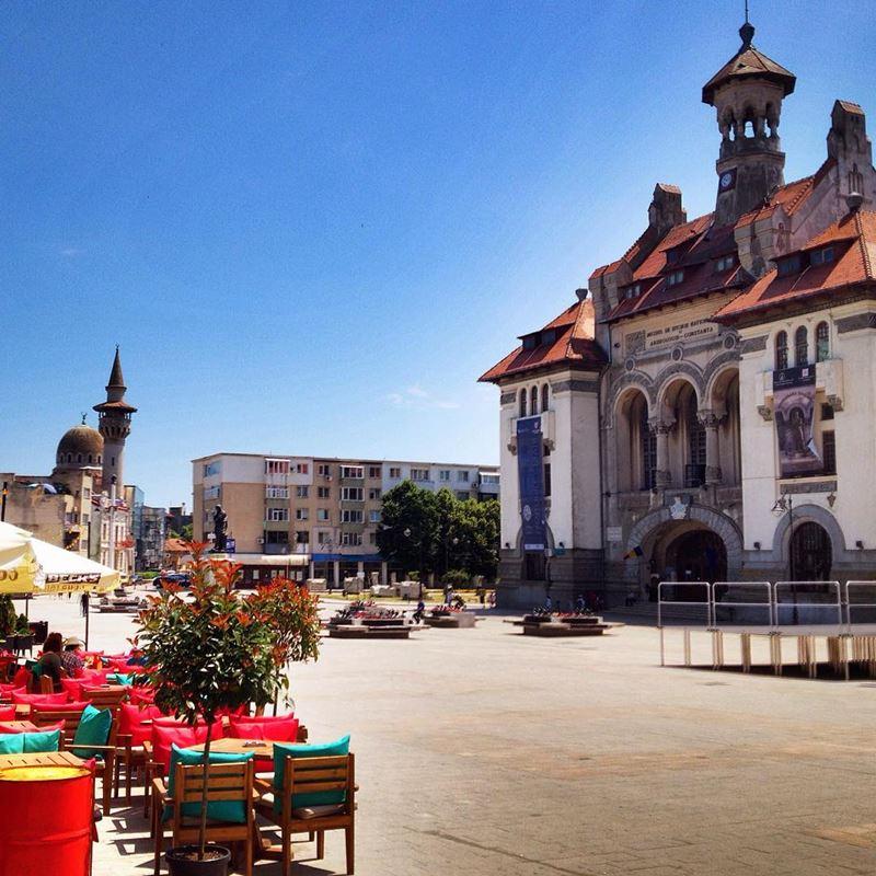 Красивые города Румынии: Констанца