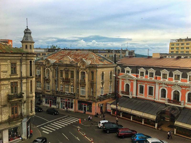 Красивые города Румынии: Яссы