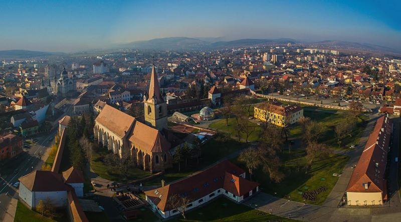 Красивые города Румынии: Тыргу-Муреш