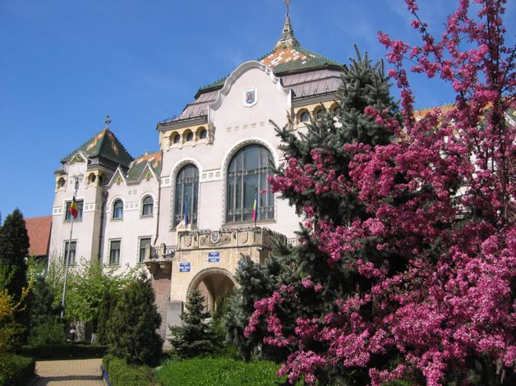 Тыргу-Муреш – красивый городок в центре Трансильвании