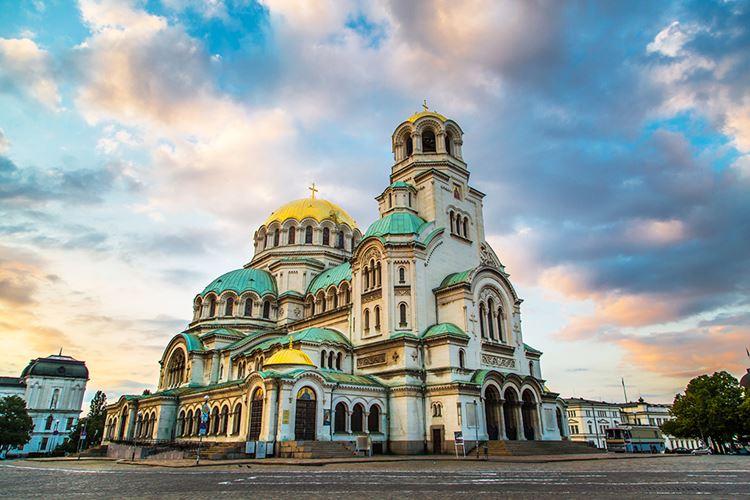 Крупные и красивые города Болгарии: София