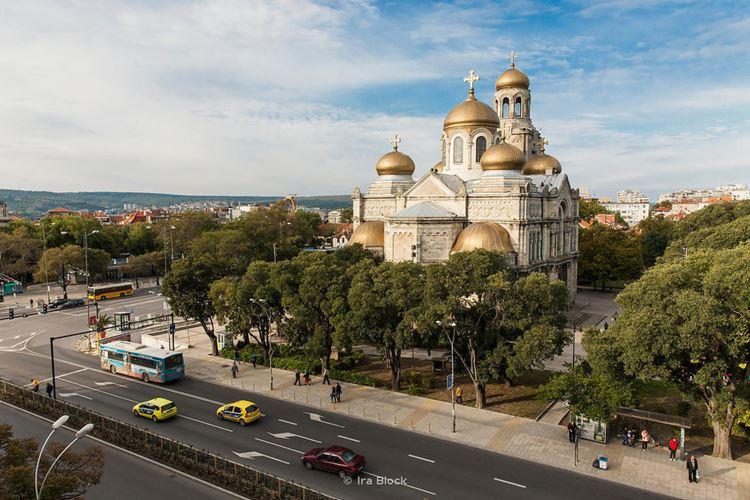 Варна - туристический город Болгарии на берегу Чёрного моря