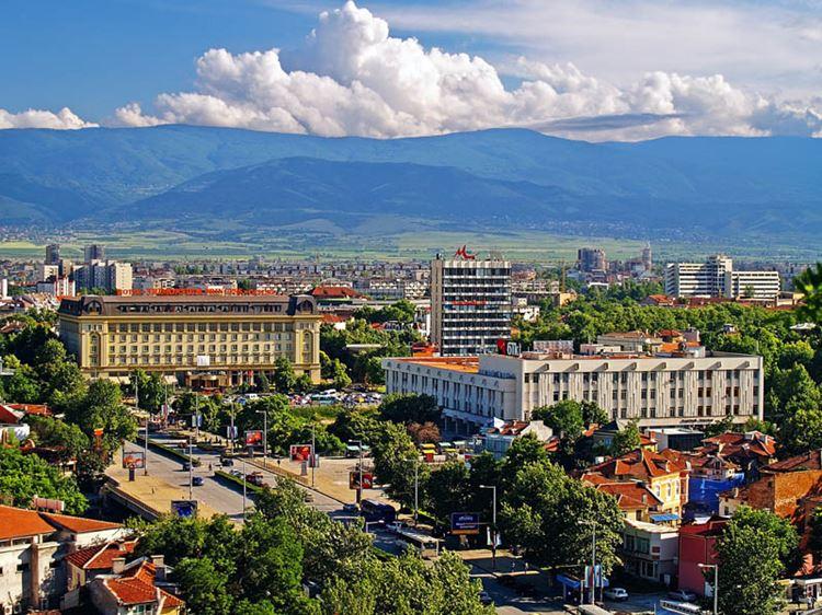Пловдив - болгарский город со старинной архитектурой