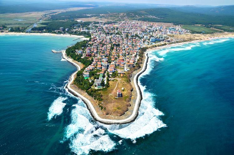 Крупные и красивые города Болгарии: Бургас