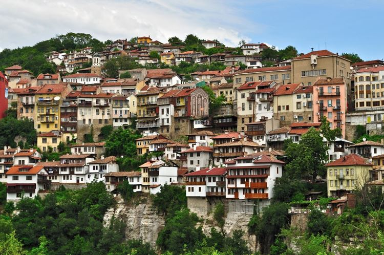 Велико-Тырново - живописный болгарский городок