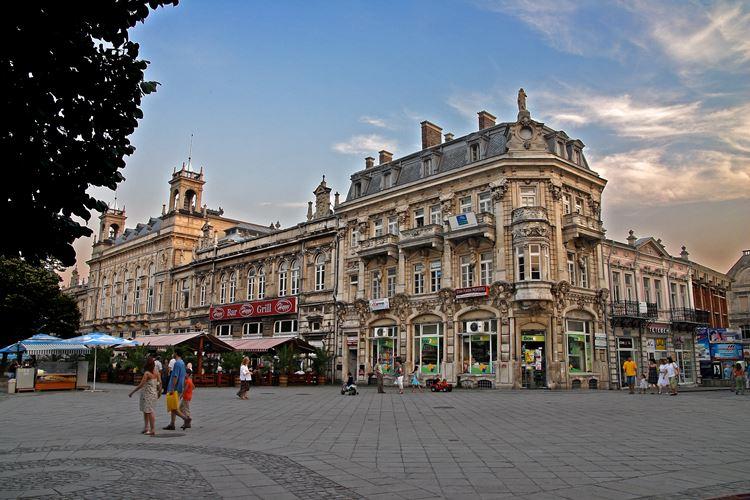 Крупные и красивые города Болгарии: Русе