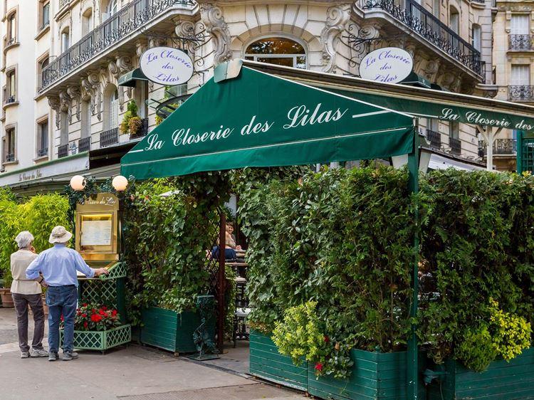 Знаменитые исторические кафе Парижа: «Клозери де Лила»