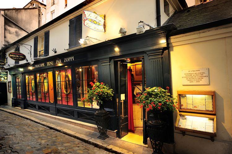 Знаменитые исторические кафе Парижа: «Прокоп»