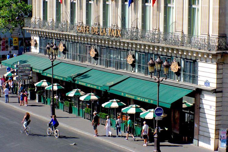 Знаменитые исторические кафе Парижа: «Кафе де ла Пэ»