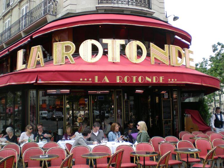 Знаменитые исторические кафе Парижа: «Ротонда»