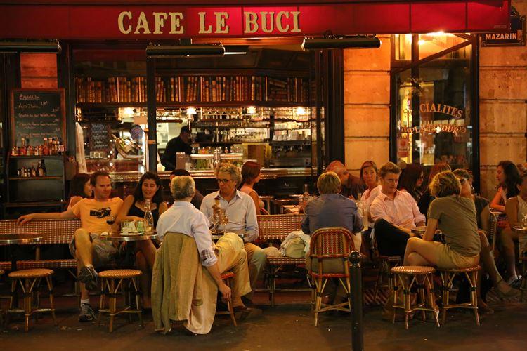 Знаменитые исторические кафе Парижа: «Ле Бюси»