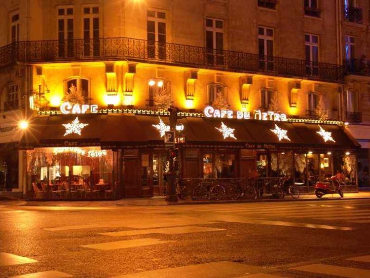 Знаменитые исторические кафе Парижа: «Кафе дю метро»