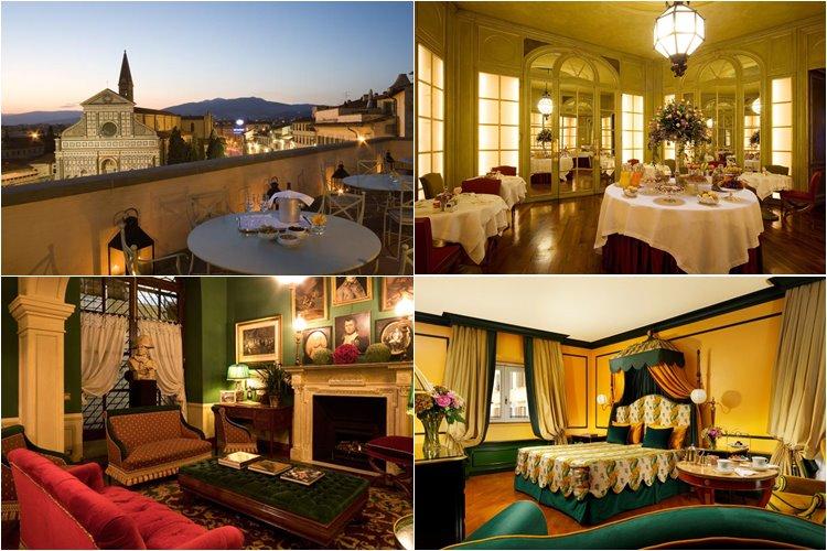 Лучшие люкс-отели Флоренции: Hotel Santa Maria Novella (4 звезды)