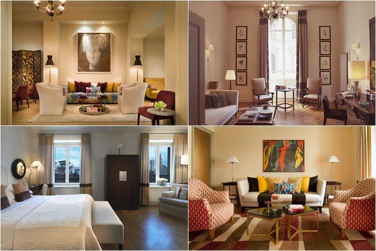 Лучшие люкс-отели Флоренции: Rocco Forte Hotel Savoy (5 звезд)