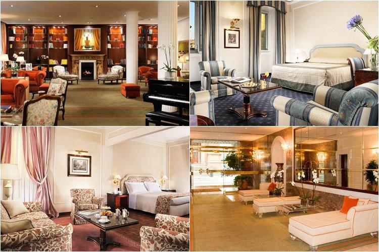 Лучшие люкс-отели Флоренции: Hotel De La Ville (4 звезды)