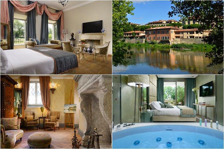 Лучшие люкс-отели Флоренции: Hotel Ville sull'Arno (5 звезд)