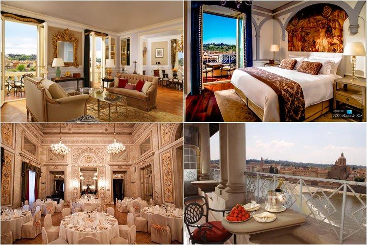 Лучшие люкс-отели Флоренции: The St. Regis Florence (5 звезд)