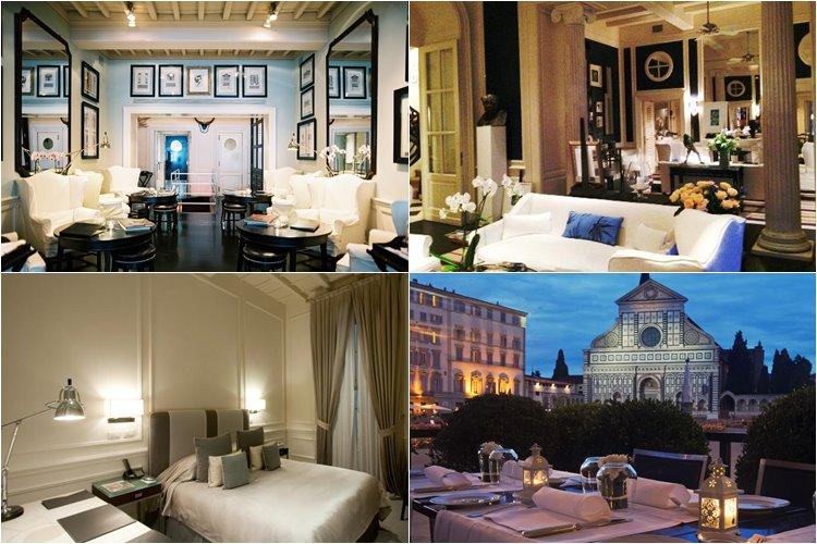 Лучшие люкс-отели Флоренции: J. K. Place (5 звезд)