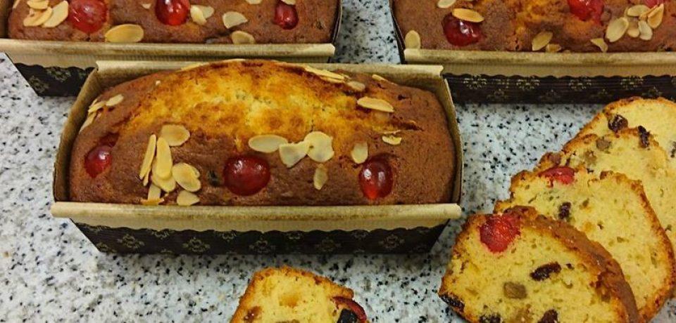 Классический английский кекс с цукатами