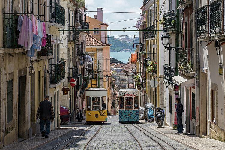 Самые известные и красивые улицы мира - Руа-да-Бика в Лиссабоне (Португалия)