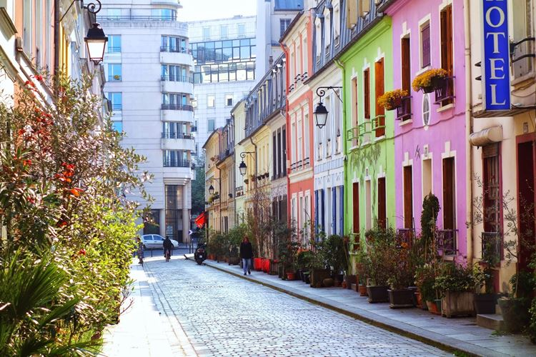 Самые известные и красивые улицы мира - Улица Кремье в Париже (Франция)